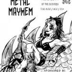Dr. Sketchy's Metal MAYhem